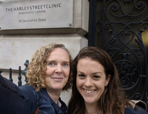 What has our Aldgate Chiropractor Karen, been doing at a seminar, with Harley Street Surgeons?