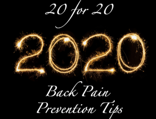 20 Back Pain Tips for 2020